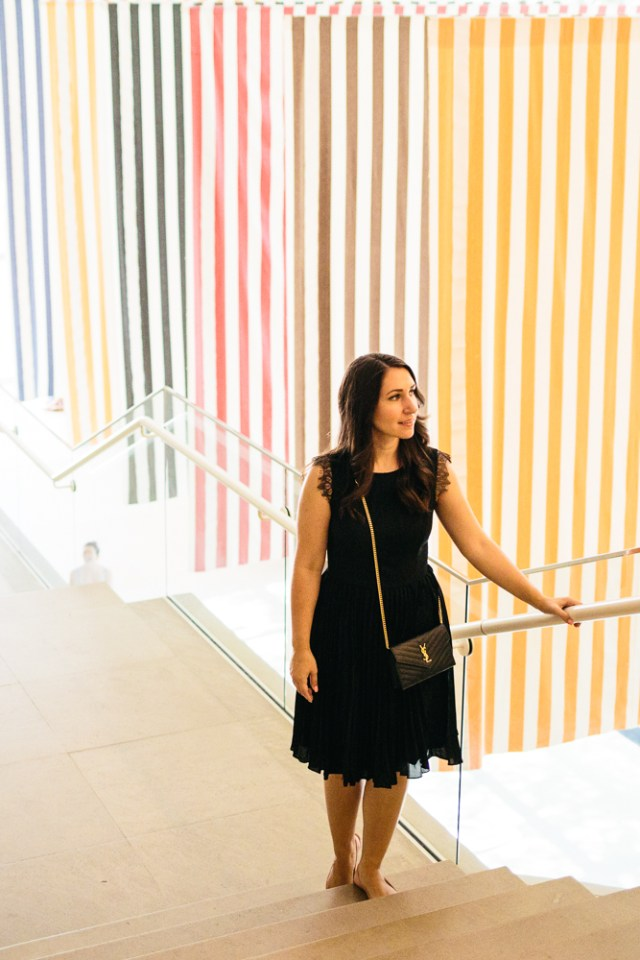 The Art of Fashion - Waketon Road: A day at the DMA wearing Banana Republic LBD