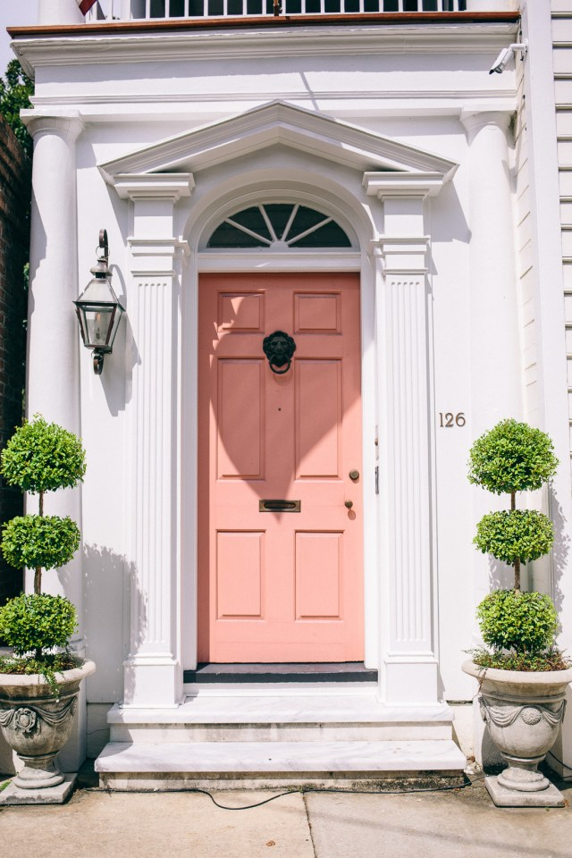 All the Pink in Charleston on Waketon Road Blog