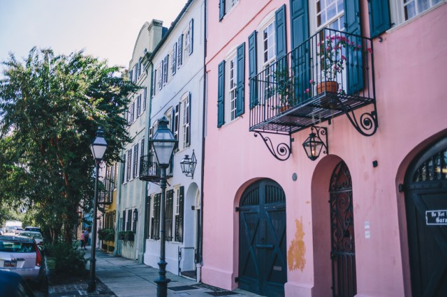 The Charm of Charleston on Waketon Road Blog including a stop a Rainbow Row