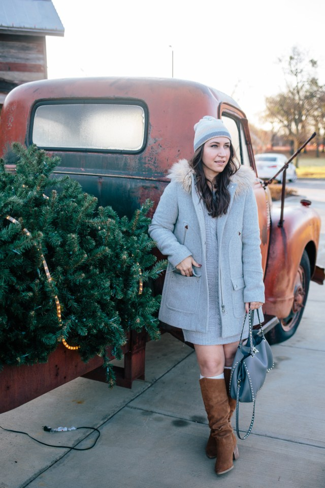 Baby It's Cold Outside - Waketon Road wearing Gap