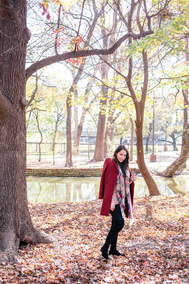 A Fall Day in the Gardens on Waketon Road | Fall Outfits