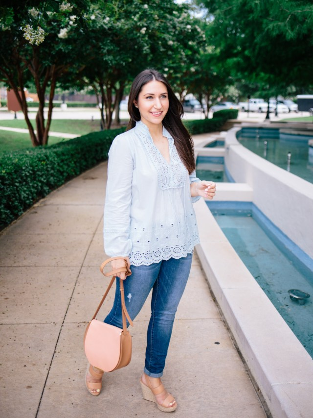 Casual Weekend Style on Waketon Road Blog wearing Loft
