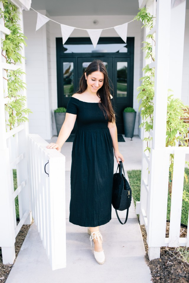 A Great Little Black Dress on Waketon Road at George Coffee and Provisions