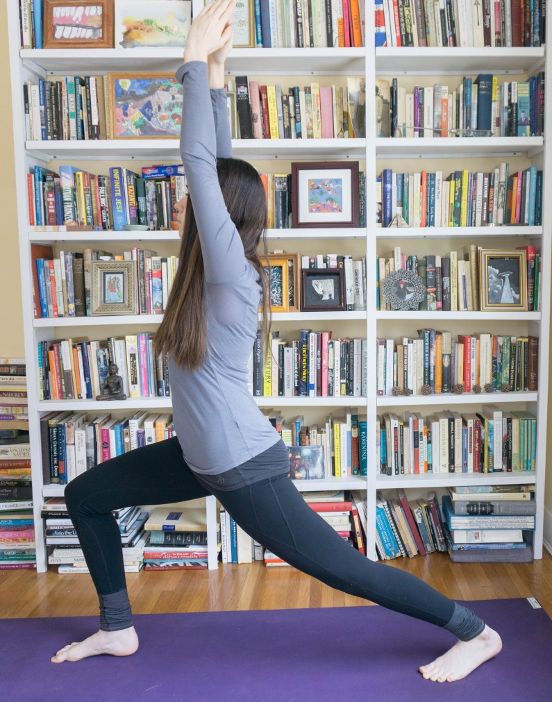 Yoga Poses - Check out this list of poses to strengthen and stretch your body! #yoga #poses #flexibility | www.wakeuptowaffles.com