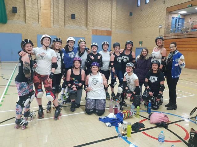 roller derby wakefield training