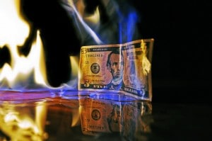 Flickr - Burning Dollar - Mike Poresky