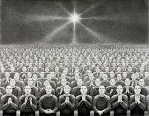 DELUSION DWELLERS, Laurie Lipton, 2010