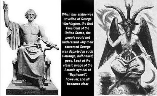 The God of Freemasonry Exposed  God-of-freemasonry-baphomet-washington