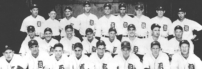 Classic Baseball – Tigers Vs. Yankees – 1934