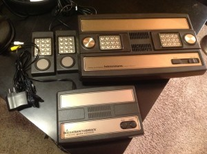 Intellivision Flashback vs. Intellivision