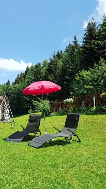 Sommer FeWo Garten