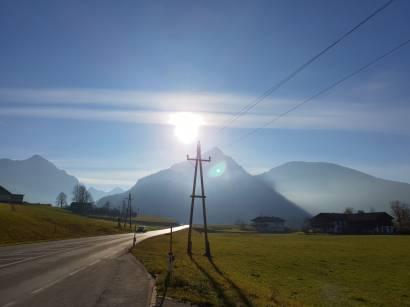 auf dem Weg zum Wolfgangsee
