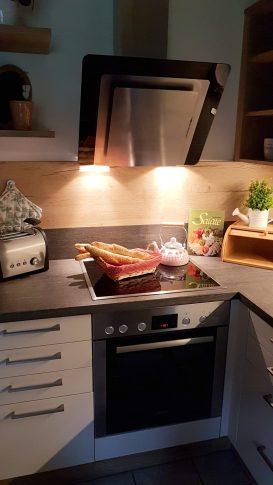 Küche Ferienhaus Sacherl Wald Kobel
