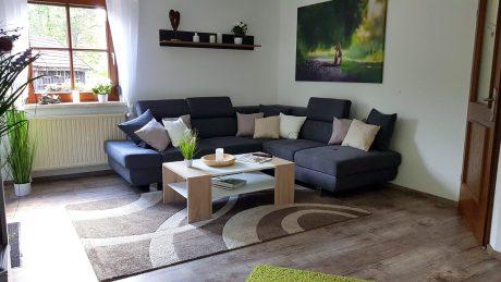 Ferienhaus Sacherl Wohnzimmer
