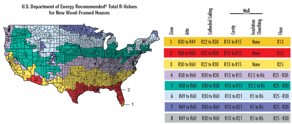 R Value For Vaulted Ceiling Americanwarmoms Org