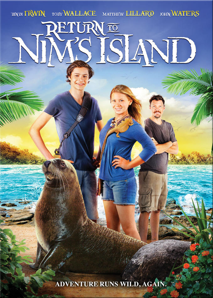 Image result for RETURN TO NIM'S ISLAND ( 2013 ) POSTER