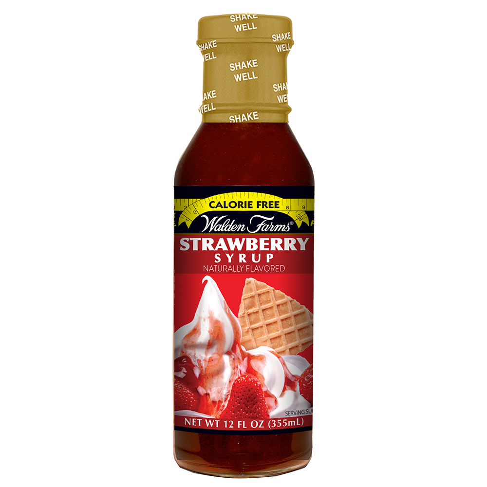 Strawberry Syrup Product Rendering