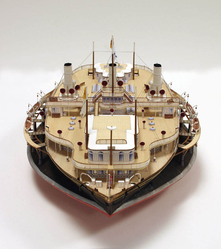 Imperial Russian Yacht Livadia 1881