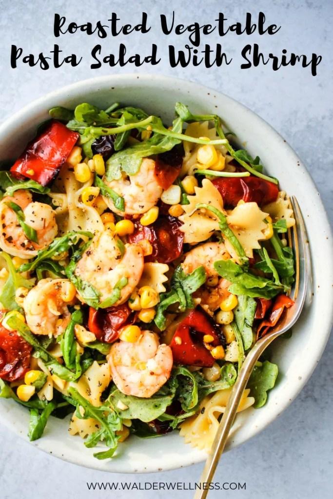 roasted vegetable pasta salad pinterest