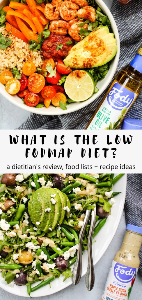 what is a low fodmap diet pinterest graphic