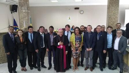 DOM FRANCISCO VISITA CÂMARA DE PETROLINA