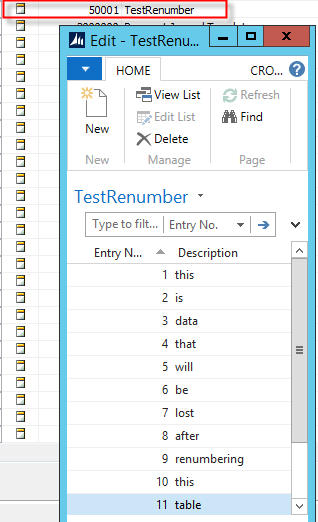 Renumbering tables in NAV 2013 R2 - be careful! (2/4)