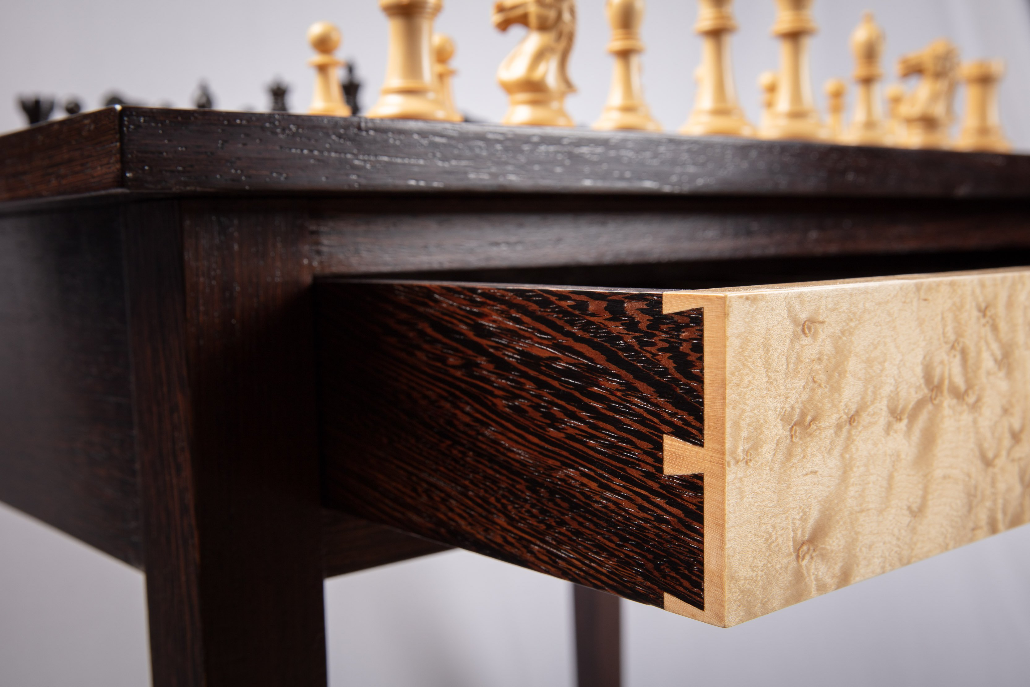 Chess Table Drawer