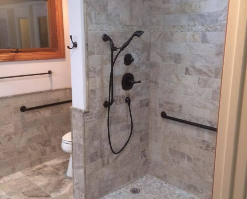 Waldron Construction Bathroom Remodel