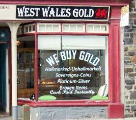 West Wales Gild Lampeter Shop Front