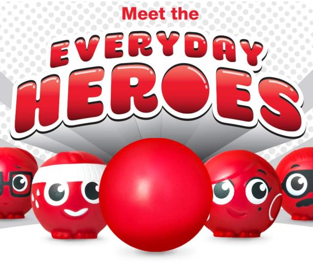 Meet The Everyday Heroes Together The Red Nose Day
