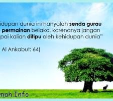 kehidupan dunia menurut islam