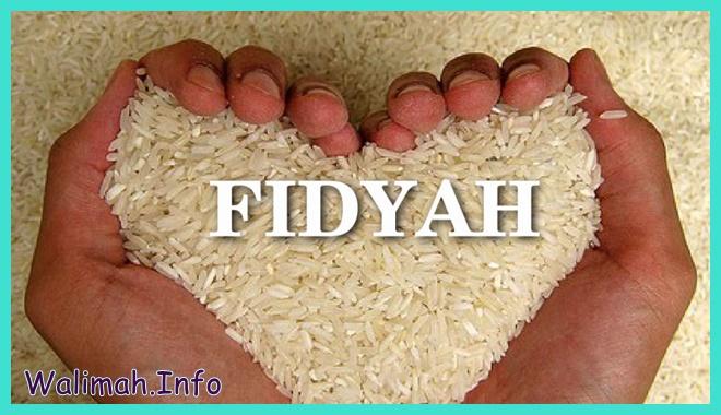 cara membayar fidyah dengan beras