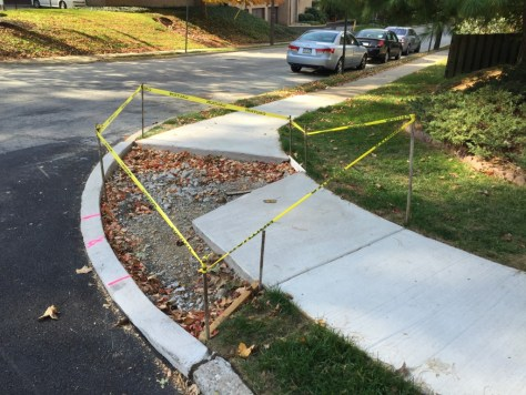 The corner of West and Jenkintown: Why do anything once? It's only tax dollars, after all.