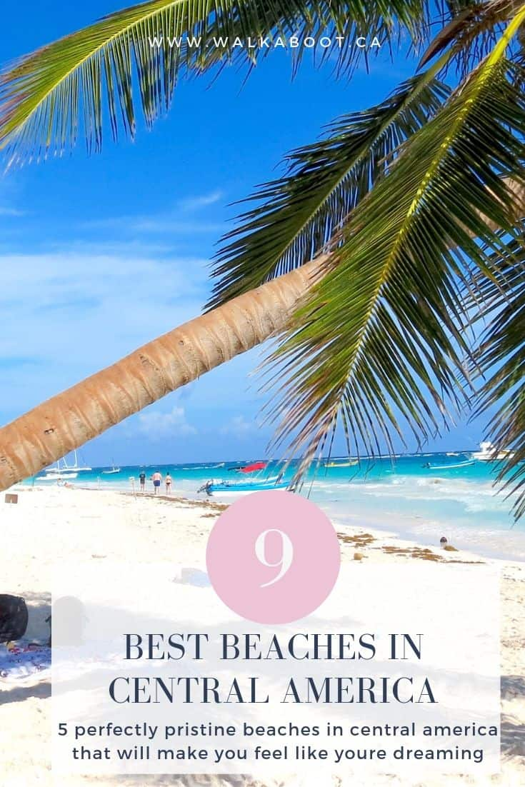 5 best beaches in central america