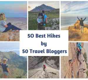 50 best hiking destinations by 50 bloggers