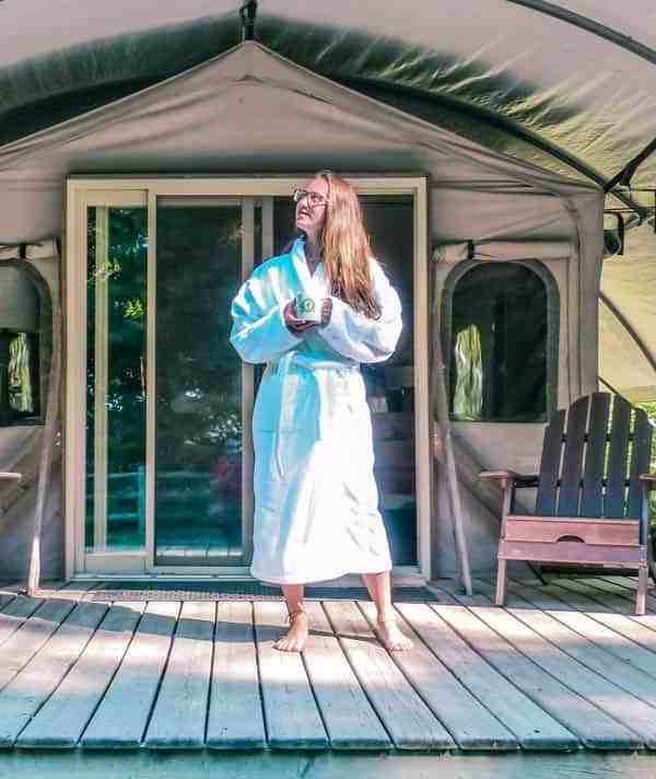 Adventure Travel in Ontario Glamping at Long Point Eco in Norfolk County