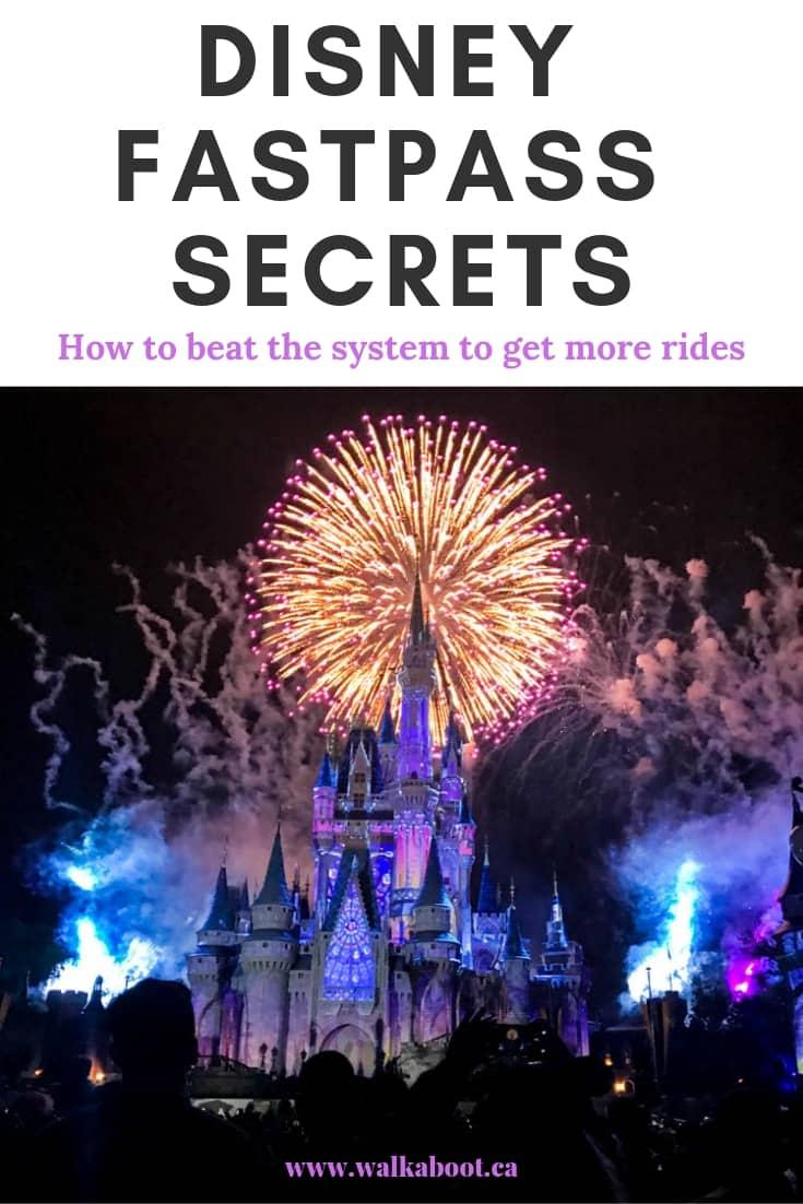 Disney fastpass hacks