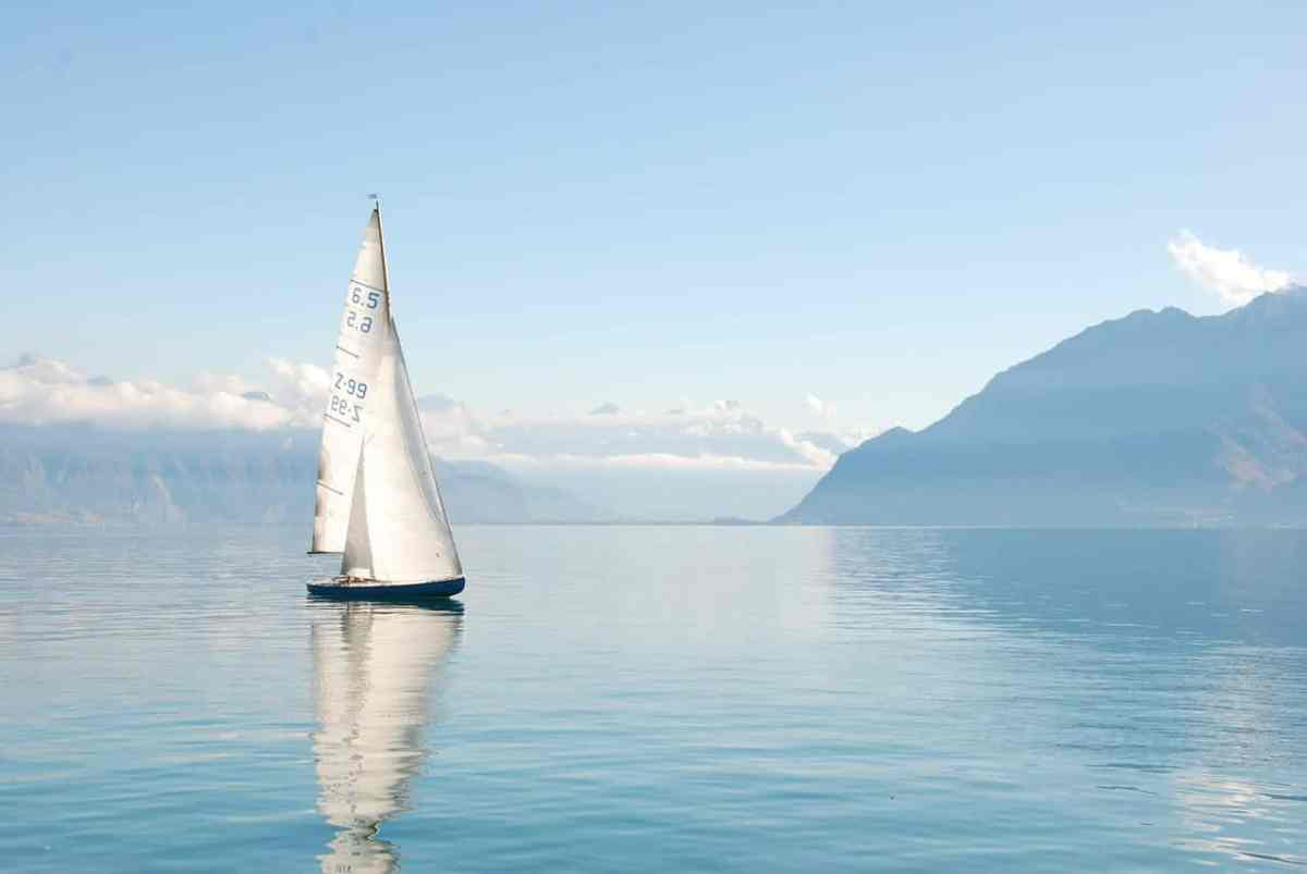 a boat on lake geneva switzerland