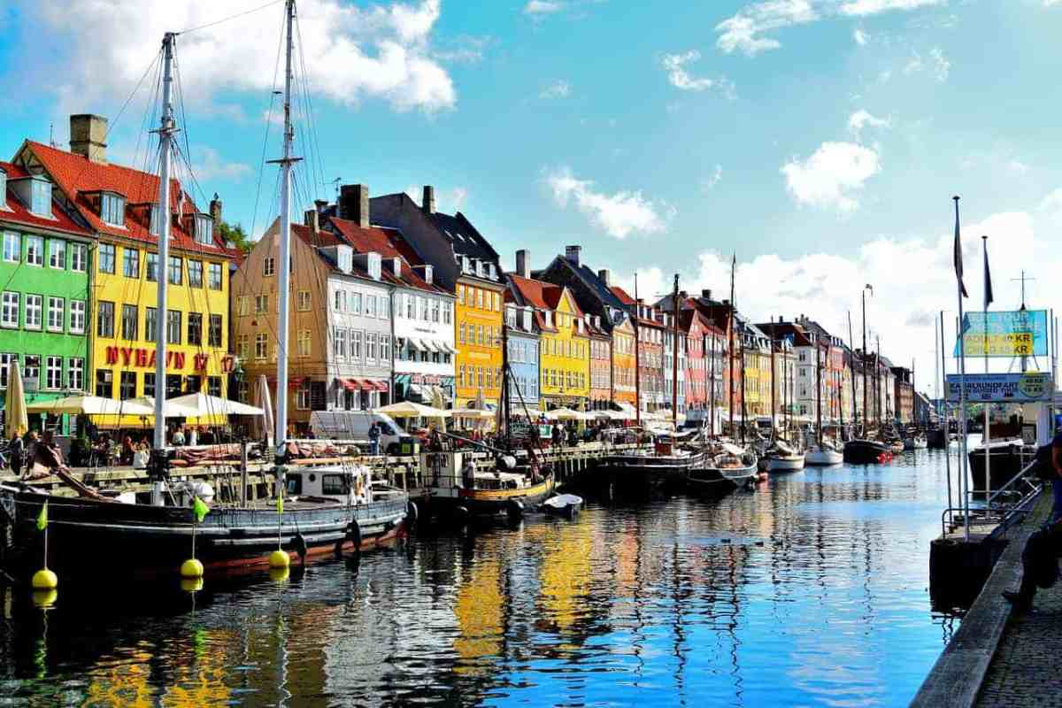 Copenhagen luxury city