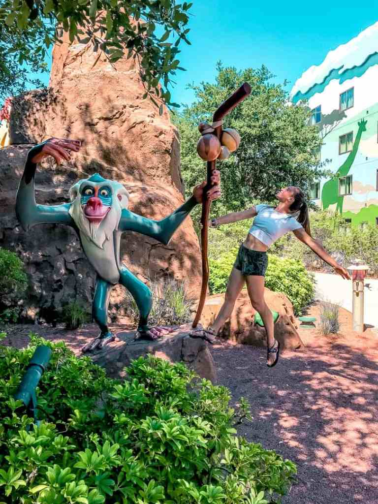 Rafiki at Art of Animation resort