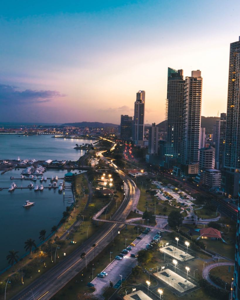 Panama City from above