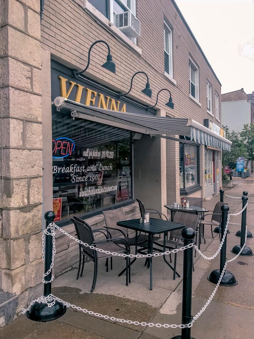 The vienna guelph breakfast restaurant