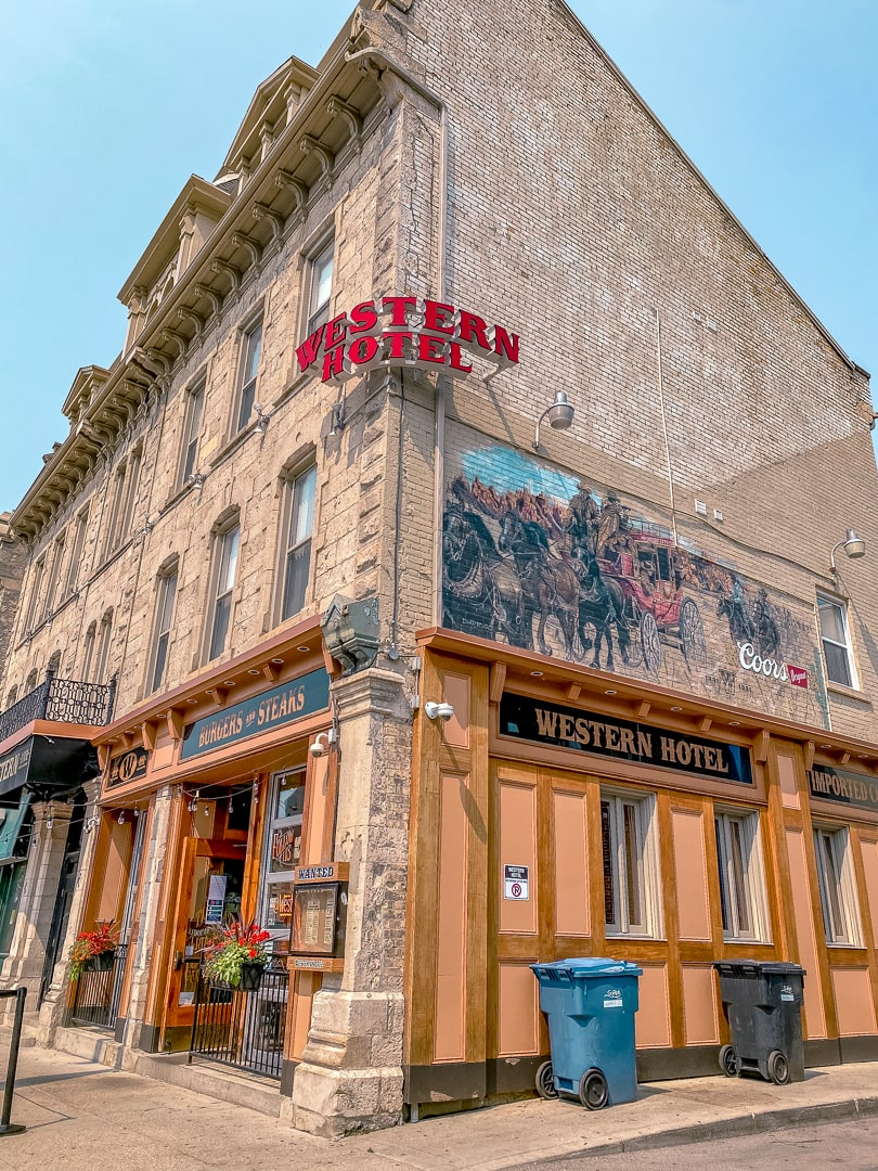 The Western Hotel in downtown Guelph