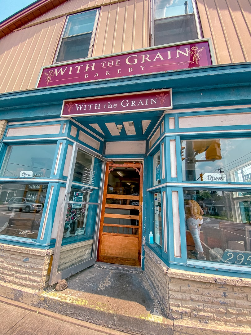 With the grain bakery in Guelph