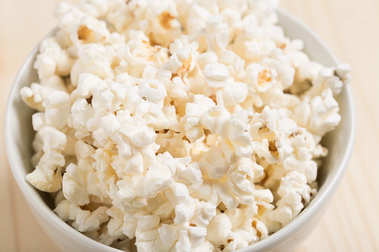 popcorn as a road trip snack