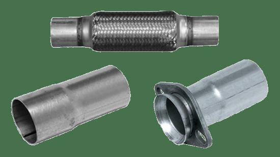 4 id x 8 in long exhaust flex pipe