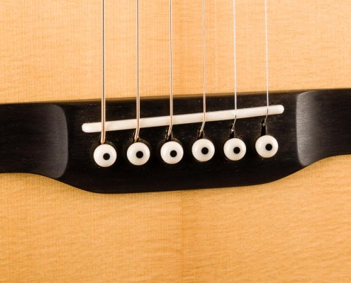 Kim Walker guitar bridge
