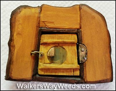 The Mother Tree Part Iii Fairy House Door Walkers Way Weeds