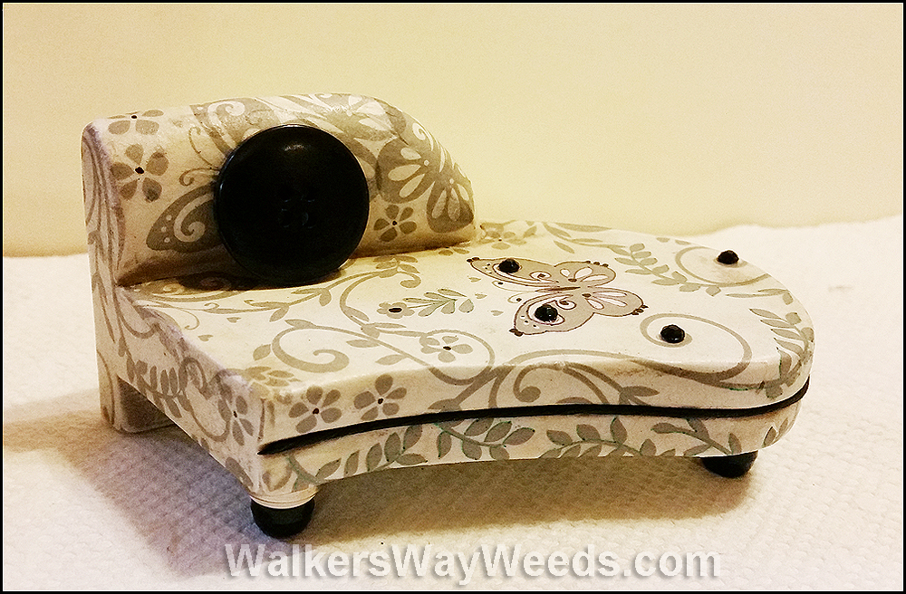 Fairy Chaise Lounge, from broken to beautiful!