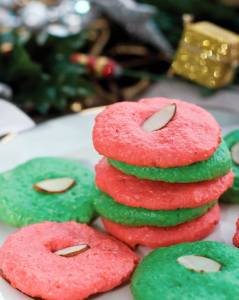 Holiday Almond Cookies
